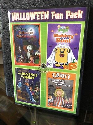 Jimmy Halloween (Halloween Fun Pack 4 Movie set Halloween Spooktakular, Revenge Of Jimmy,)