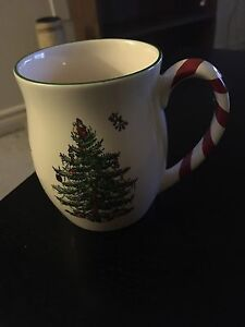 Spode Christmas tree Mug Collection