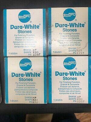 Shofu Dura White Stones 0207 Box-12