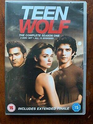 Teen Wolf Temporada 1 DVD Caja Set 2011 Americano Alta Escuela Lobo...