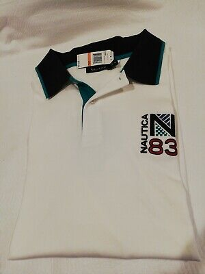 Nautica Mens Polo Shirt Short Sleeve Classic Custom Fit 3XL MSRP $79.50