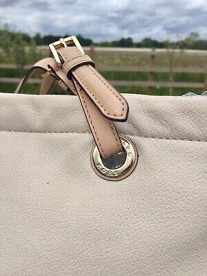 Large Cream Michael Kors Tote / Shoulder Bag