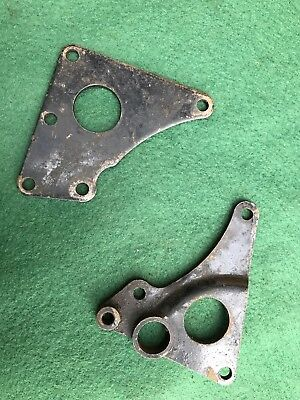 TRIUMPH OIL IN FRAME REAR ENGINE PLATES 1976 ONWARDS USED