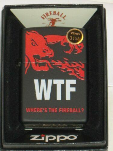 New ZIPPO USA Windproof Lighter 29849 WTF Where