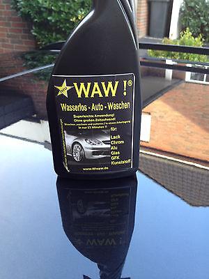 WAW!  Top-Pflegemittel für Auto und Boot 500ml + Tuch