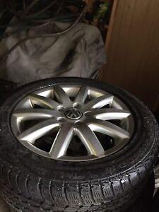 Mags et pneus Audi ou volks