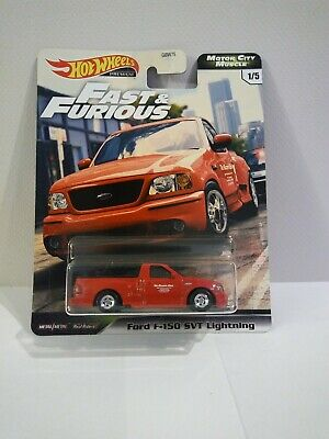 2020 HOT WHEELS FAST & FURIOUS MOTOR CITY MUSCLE FORD F-150 SVT LIGHTNING