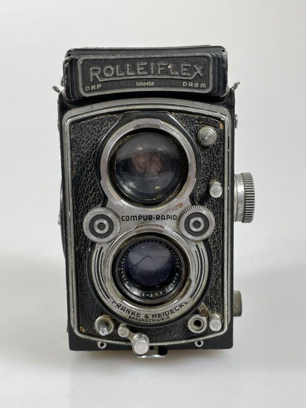 Rollei Rolleiflex Automat Model 3 Carl Zeiss Tessar 7.5cm 75mm F3.5 TLR Camera