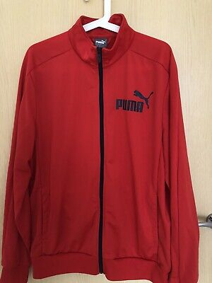 Puma Jacket Size Large red