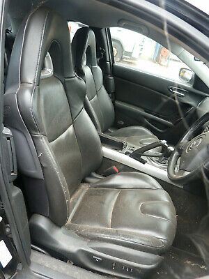 MAZDA RX8, DRIVER AND PASSENGER LEATHER SEATS, 2004, KEY 41