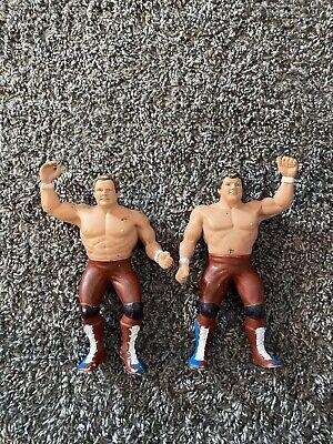 WWF LJN Action Figures - British Bulldogs - Series 3 Tag Team
