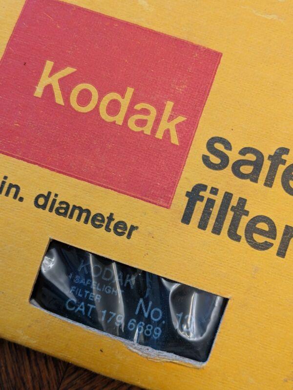"Kodak Safelight Glass Filter No 13, 5-1/2"", Cat 179 6689, Great condition"