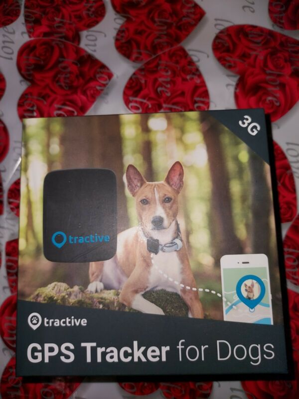 Tractive 3G GPS tracker for Pets