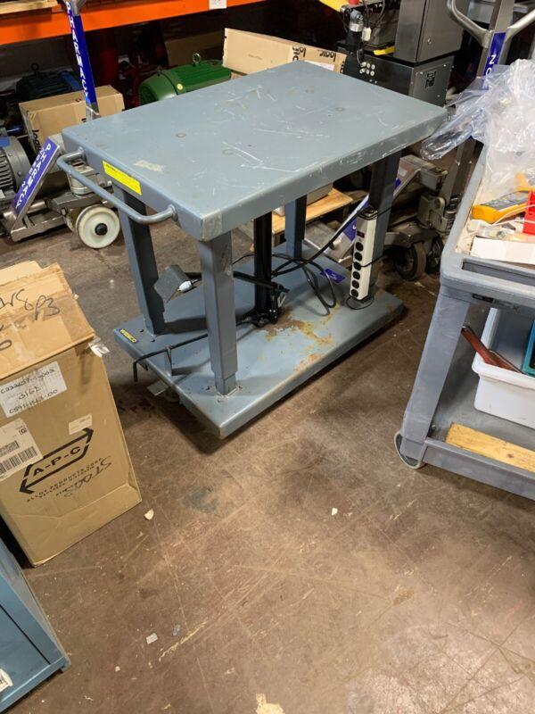 WESCO Industrial Products LTL-20-2436 2,000 Lb Lift Table