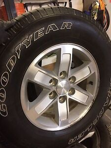 GMC/CHEVY RIMS AND TIRES