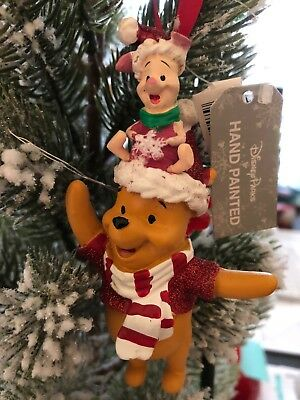 - Disney Winnie the Pooh And Piglet Christmas Ornament