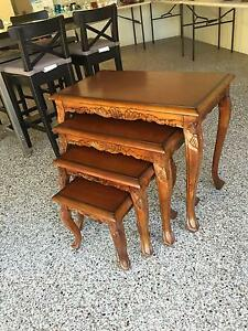 Stunning nest of tables Brookwater Ipswich City Preview