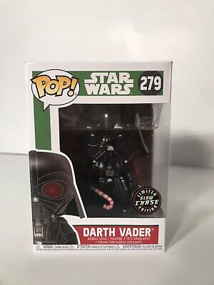 Funko Pop! Star Wars Darth Vader Glow in the Dark Chase #279 Holiday Christmas