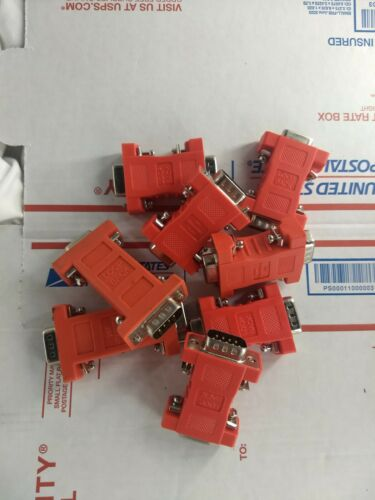 *Lot of 8* Maxstream Digi 9 Pin Serial Loopback Tester 9 Pin Male X 9 Pin Female