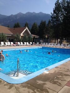 3/Bed, SL 8 in Radium Hot Springs, B.C. July 23-30/18