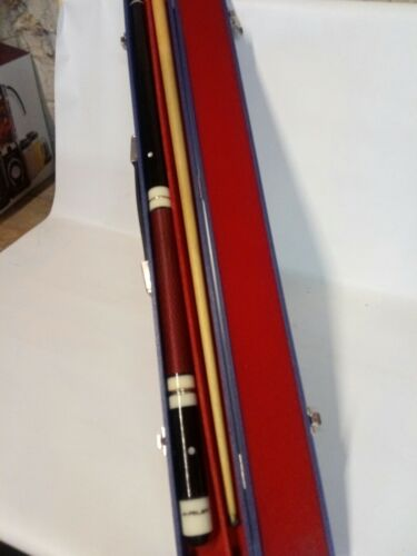 Riley 4 Piece Snooker Cue And blue Caring Case