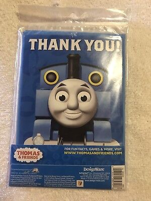 Thomas the Tank Train Engine Thank You Postcards with envelopes and seals 8ct.](Thomas And Friends Invitations)