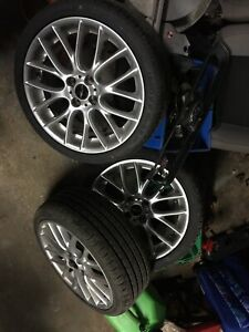 Mini Cooper wheels John Cooper works