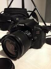 Canon  EOS 650D 18.0 MP Digital SLR Camera w Canon 18-200mm f/3.5 Macquarie Fields Campbelltown Area Preview