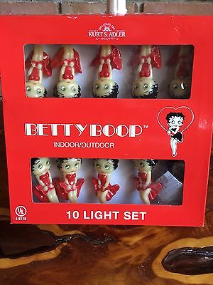 BETTY BOOP Indoor/Outdoor 10 Light Set  Kurt S.Adler