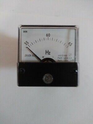 Daiichi Keiki Pak-60a Panel Frequency Meter55 To 65