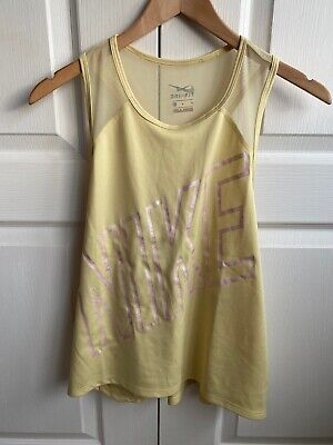 Nike Ladies Dri Fit Vest Size Large