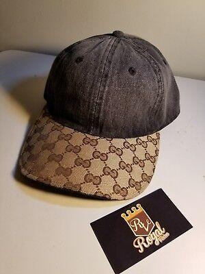 a5bb4dd93c7 Customize Gucci Dad Hat Denim Black Adjustable d occasion Expédié en Belgium