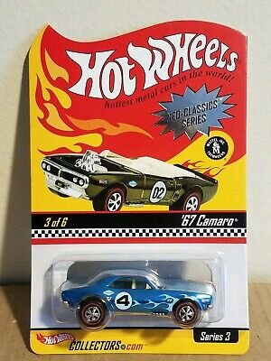 Hot Wheels Red Line Club RLC Neo Classics Series 3 Blue 67 Camaro