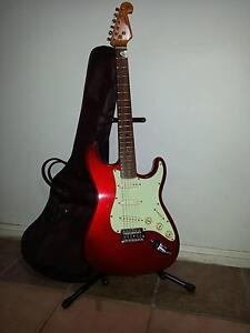 SX Fender Strat copy - Metallic Scarlet Red ! Logan Central Logan Area Preview
