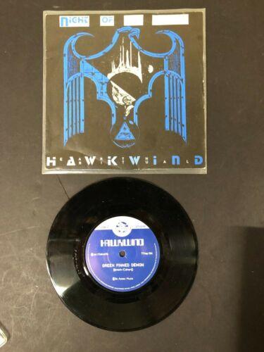 "HAWKWIND NIGHT OF THE HAWKS 7""  FLICKKNIFE RECORDS 1984 LEMMY  DAVE BROCK NICE"