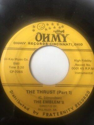 "Ohio Tittyshaker Instro 45/ Emblem's ""The Thrust""      Clean!   Hear"