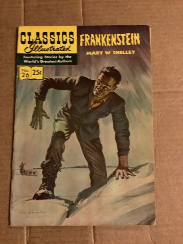 Classics Illustrated Comic 26 Frankenstein Horror