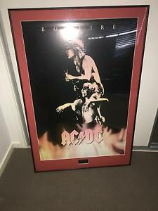 AC/DC - Angus Young Signed Large Photo + frama Warner Pine Rivers Area Preview