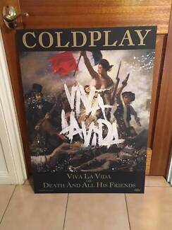 Coldplay Viva La Vida Block Mount