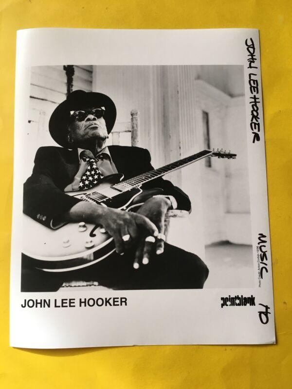 "John Lee Hooker Press Photo 8x10"", Point Blank 1996. See Photos."