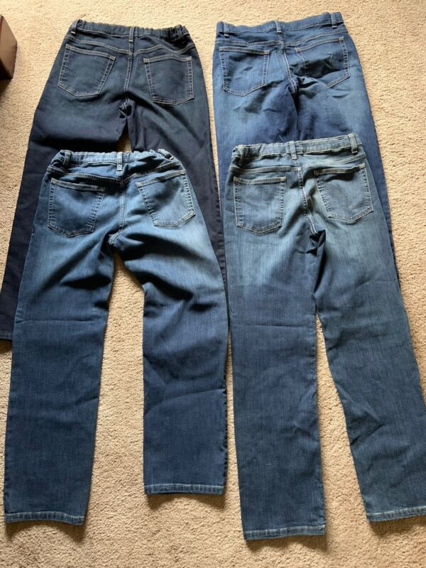 Urban Pipeline Boys Jeans 4 Pairs Size 16-18