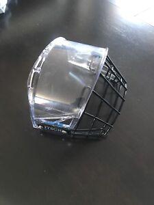 Visière demi-grille Demi-visière pour casque de hockey