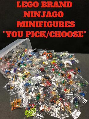 "AUTHENTIC LEGO NINJAGO CHARACTER MINIFIGURE  ""YOU PICK/CHOOSE"" GENUINE"