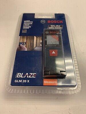 New Bosch Glm20 X 65 Ft Blaze Laser Measure