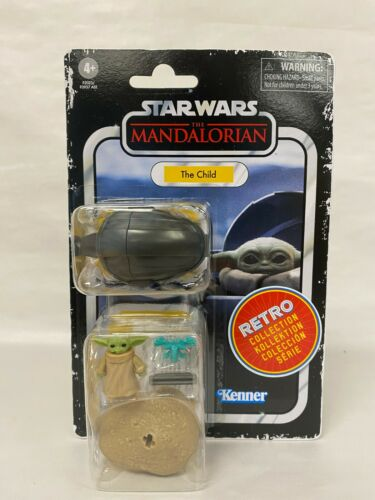 "Star Wars Retro Collection Mandalorian THE CHILD 3.75"" Figure - NIB"