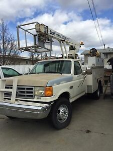 Phoenix Arizona 1991 Ford Super Duty Bucket Truck