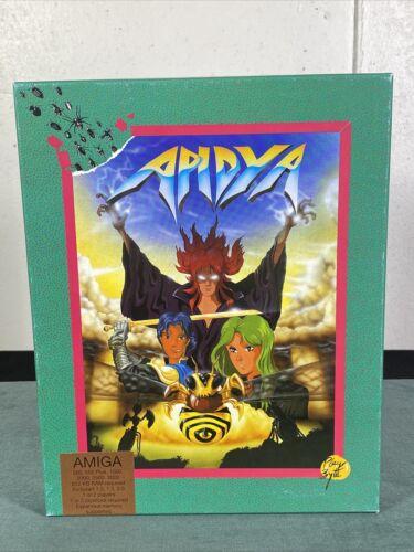 Computer Games - Commodore Amiga Apidya PC Computer Video Game w/ Manual & Box 1992