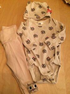 Lot de vêtements bébé fille H&M