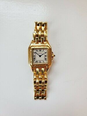 Cartier  Panthere Yellow 18K Gold Wrist Watch for Women