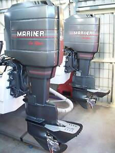 Mariner/ Mercury 2x 115hp Outboards Old Beach Brighton Area Preview